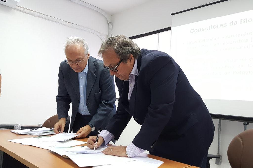 Assinatura Protocolos Foto Igor de Souza