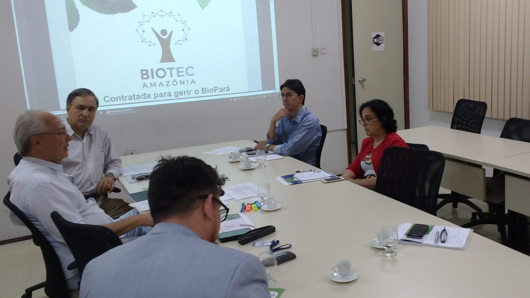 BioTec-Amazônia participa de reunião na Sectet