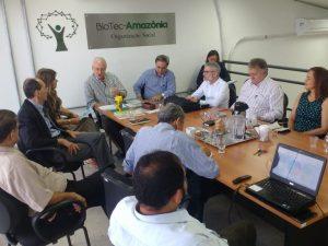 BioTec-Amazônia recebe Álvaro Prata em sua sede
