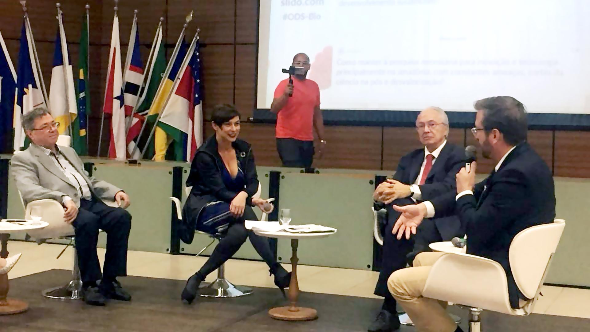 Painel ODS 2030 debate sobre Biodiversidade em Belém